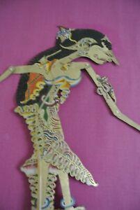 Deux Marionnettes WAYANG théâtre d'ombre Indonésie