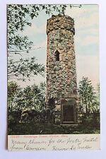 Old Udb postcard Norembega Tower, Weston, Ma