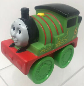 "Thomas & Friends ""PERCY"" Soft Plastic Push Toy Gullane Mattel (1513WC)  (V2213)"