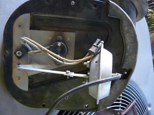 1969 1970 1971 Lincoln Continental Mark III recirc damper assemble