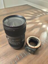 Sigma 18-35mm f1.8 for Sony A-Mount, and Sony LA-EA3 Adapter for A-Mount to...
