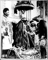 From the crown of the king of Abyssinia (Haile Selassie) - 8x10 photo