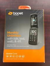 Kyocera Coast 3G CDMA  (S2151) Boost Mobile pre-paid Flip Phone New For Elderly