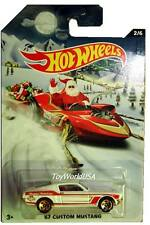2015 Hot Wheels Holiday Hot Rods Christmas #2 '67 Custom Mustang