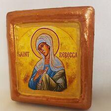 Saint Rebecca Rebeka Christianity Monastery Church Icon