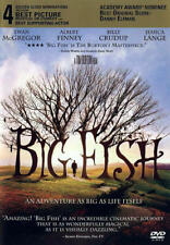 Big Fish (Dvd, 2003, Widescreen) New