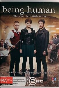 Being Human DVD - The Complete Fifth Series 5 - Free Post