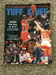 Tuff Stuff Complete Sports Price Guide Publication February 1991 Michael Jordan
