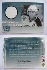 1999-00 UD Legends JC4 Ray Bourque  jersey of the century RARE