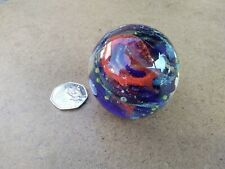 VINTAGE ISLE OF WIGHT STUDIO GLASS PAPERWEIGHT