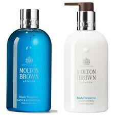 MOLTON BROWN BLISSFUL TEMPLETREE BATH & SHOWER GEL+TEMPLETREE BODY LOTION 300ML