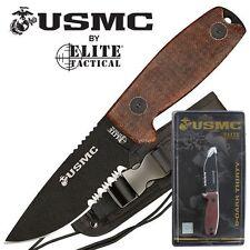 U.S. Marines Knife by MTech USA USA M-1022TN and Molle-Compatible Sheath