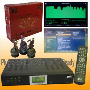 Satellite TV Radio Movie MP3 Player PVR HI-FI SIZE Triple Dragon IBM Linux