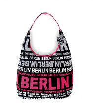 ROBIN RUTH Tasche Berlin NEU/OVP Schultertasche Sw Pink Weiß - City Shopper Bag