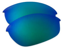 Jade Green Mirrored Replacement Sunglass Lenses for Oakley Half Jacket