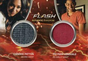 The Flash Season 2, Iris West & Wally West Dual Wardrobe Card DM4