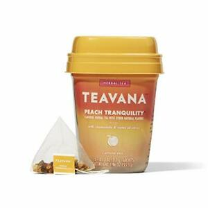 Teavana Peach Tranquility Herbal Tea With Chamomile and Notes of Citrus 60 Co...