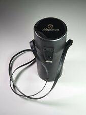 Vintage Original Makinon MK-122 Lens Case Black Travel Bag hard case Collectible