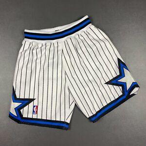 100% Authentic 92 93 Orlando Magic Mitchell & Ness Shorts Size M 40 Mens penny