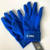 JAKO Feldspielerhandschuhe Handschuhe Winter Fleece Herren Fußball Blau 2505-04