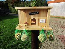 Vogelhaus, Futterhaus, Nistkasten, Vogelhäuschen Vogelfutterhaus,`Knödelbude