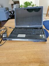 """HP Pavilion dv8000, 17"""" screen, w/Windows XP Media Center. Charger included."""