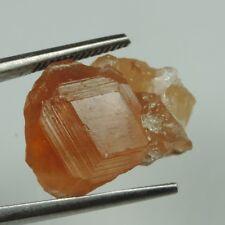 25.8 cts orange hessonite garnet crystal specimen jeffrey mine
