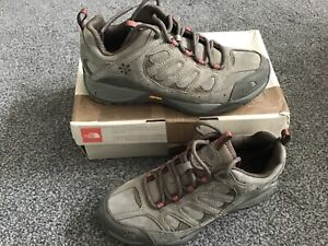 Women's The North Face Leather Walking Shoes Khaki Mix Colour uk 6.5 Brand New