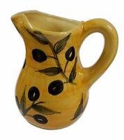 Sangria Jug 1.5 litre 21 x 15 cms Traditional Spanish Handmade Ceramic Pottery