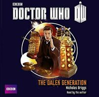 Doctor Who: The Dalek Generation by Briggs, Nicholas Book The Fast Free Shipping