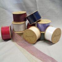 Bowtique Cream Vintage Detailed Lace Trim Ribbon 14mm x 5m Reel