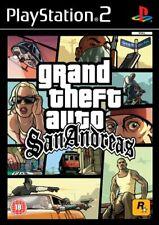Grand Theft Auto San Andreas (PS2, 2004) PAL Disc Mint NJ1