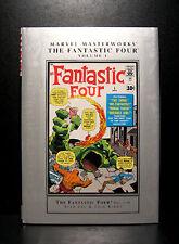 COMICS: Marvel Masterworks: Fantastic Four #1-10 hardcover - RARE (x-men)