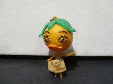 Minute Maid Florida orange juice figure key chain.