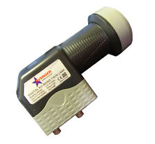 Avenger KSC322 0.2 dB Standard Dual Output Linear Ku Band Satellite LNB FTA