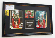 *** Rare DAVID BECKHAM of MANCHESTER UNITED Signed PHOTO Display ****