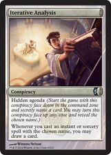 Iterative Analysis   EX/NM x4 Conspiracy MTG Magic CONSPIRACY CARD Uncommon