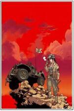 Affiche Sillage bruno graff Buchet signé 40x60 2008