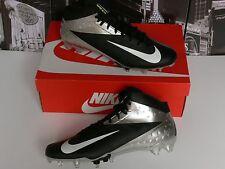 CHROME SILVER BLACK Nike Vapor Talon 3/4 Hyperfuse Football US 12 UK 11 /EU 46