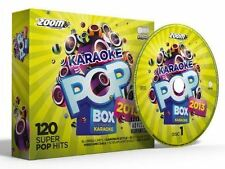 Zoom Karaoke Pop Box 2013 Set 6 Disc CD + G New Sealed