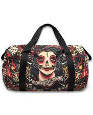 Liquor Brand Gypsy Moth Tattooed Large Purse Handbag Duffle Bag LB-BDU-00040