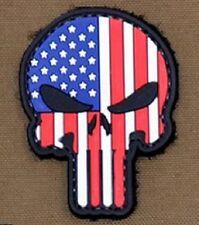 Russland Russisch Flagge Punisher Im Dunkeln Leuchten Cosplay Airsoft PVC Klett Emblem Abzeichen Patch