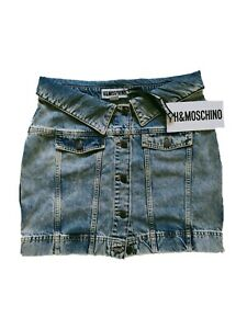 MOSCHINO for H&M JEANS SKIRT WOMAN Size 40