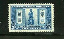 U.S. #619 (Us554) The Minute Man by French, Mnh, Big Margins, Vf