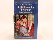 VG+ I'll Be Home for Christmas by Dawn Stewardson. Harlequin Intrigue. Z-1