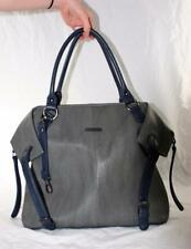 Timi & Leslie Charlie Gray and Navy Diaper Bag Used, Great Condition!