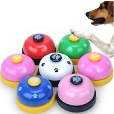 Pet Toy Dog Bell Diner Ring Puppy Training Funny Ball Food Push Button Food Out