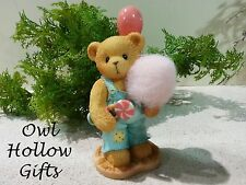 Cherished Teddies Figurine  Candy Floss - Limited Edition ...Was $56.95
