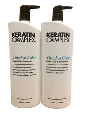 Keratin Complex Timeless Color Shampoo & Conditioner 33.8 OZ. Each