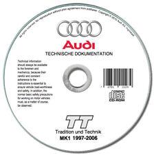 Audi TT (1997-2006) manuale tecnico e di riparazione - repair manual